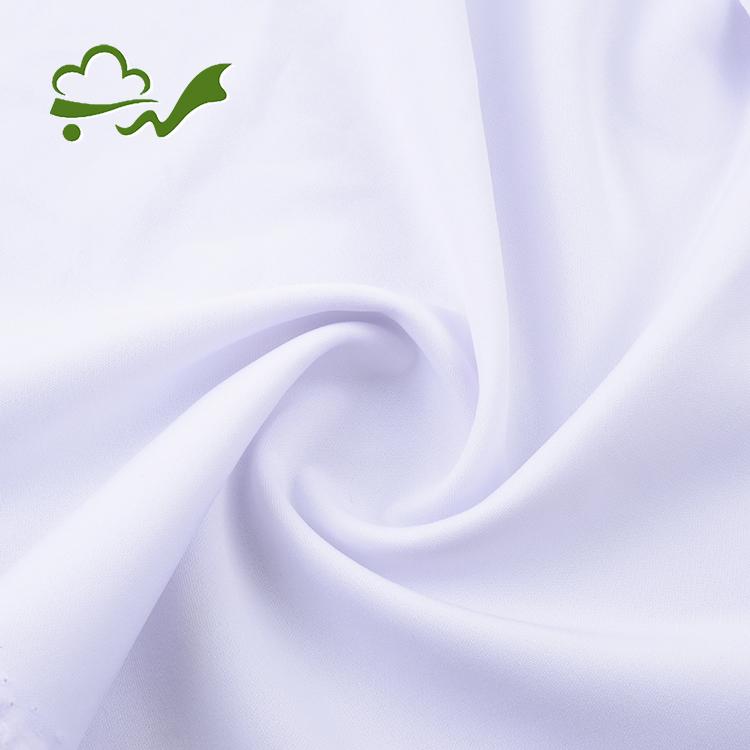 Bleach White Scuba Fabric
