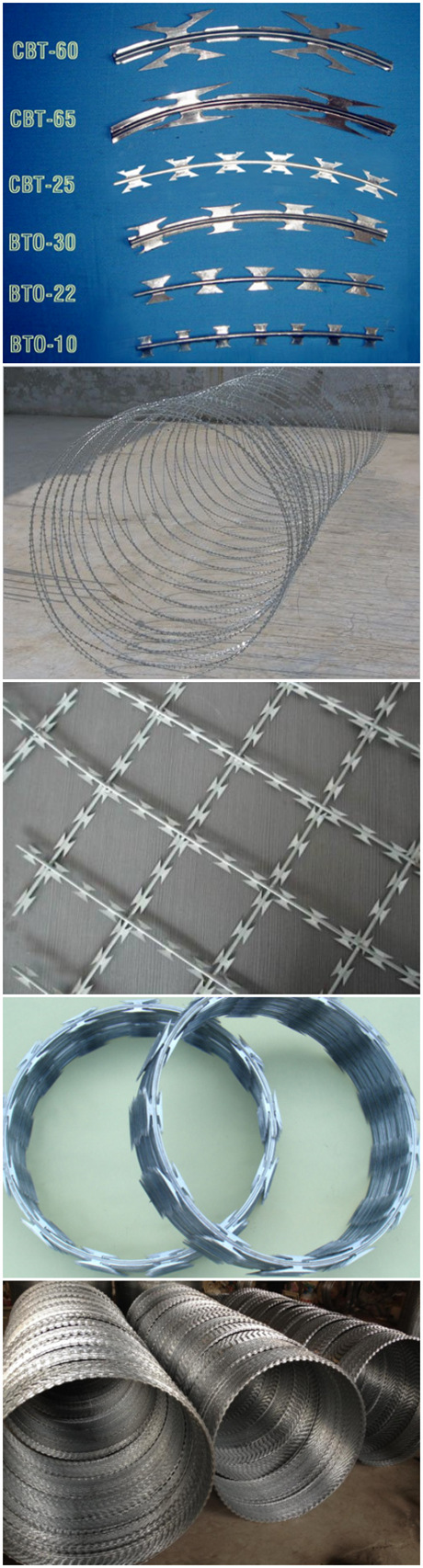 Made in China Bto Razor Wire Low Price (ZDRW)