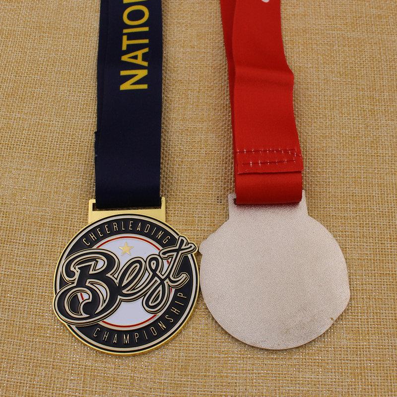 Custom Metal School Soccer Medal with School Logo
