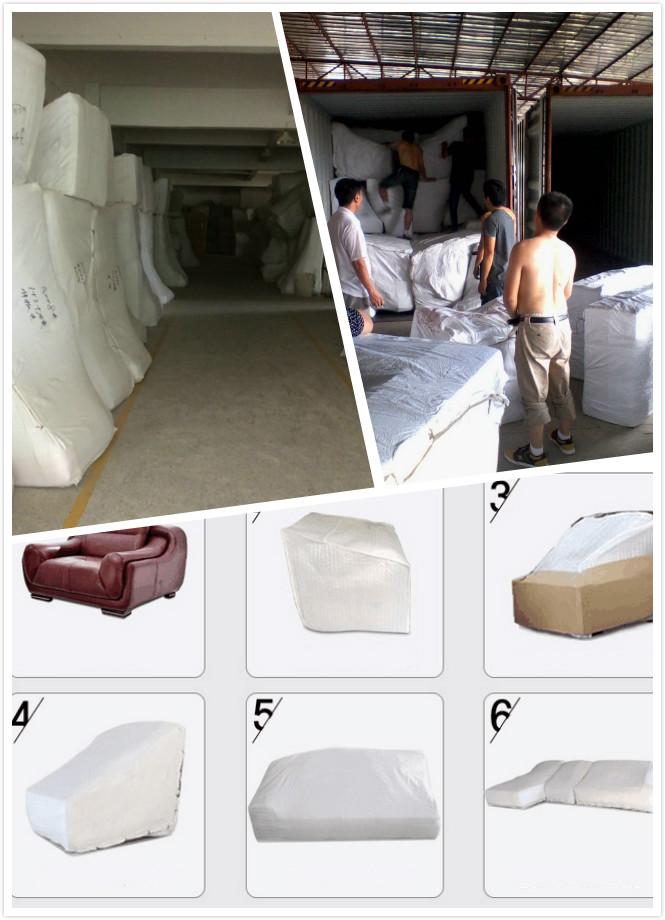 Silver Color Sofa, New Classic Sofa, Fabric Sofa (862)