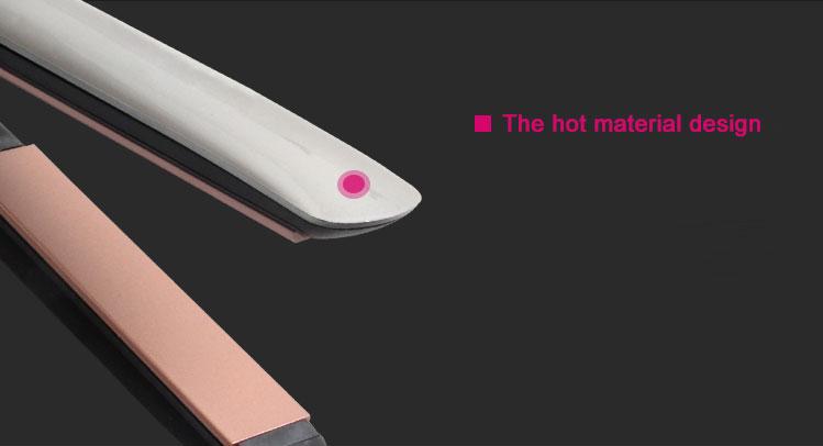 Professional Hair Flat Iron LCD Hair Straightener