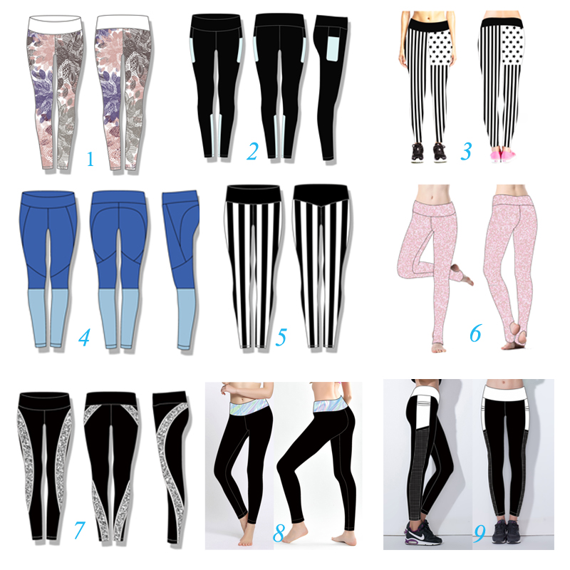 High Quality Wholesale Girls Wearing Yoga Pants Leggings