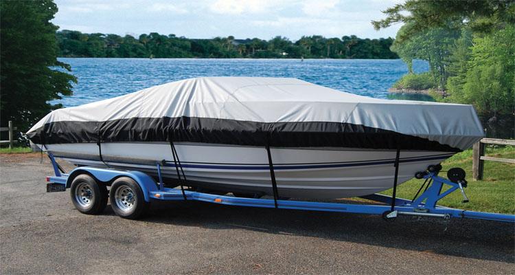 Cheap Waterproof PVC Coated Tarpaulin Dust Boat Cover