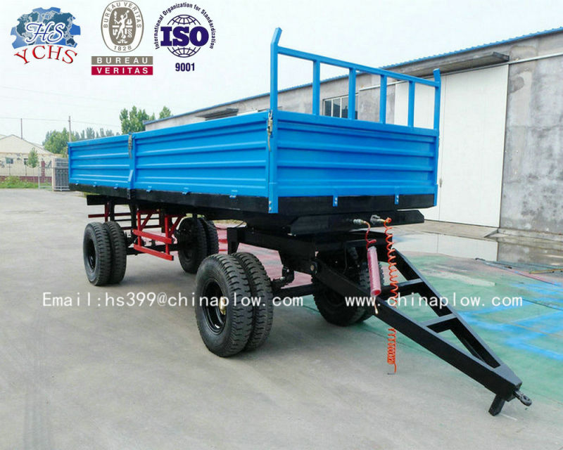 Agricultural Trailed Tractor Farm Trailer with High Quality