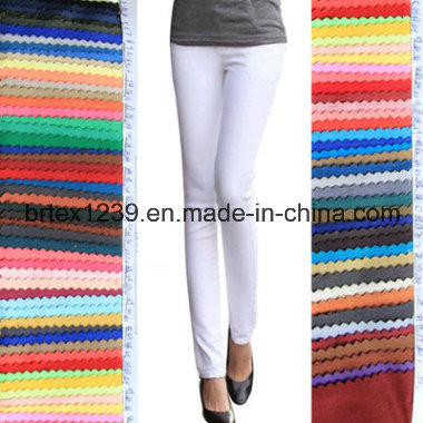 Spandex/Cotton Jacquard Woven Yarn Dyed Fabric for Shirts/Dress