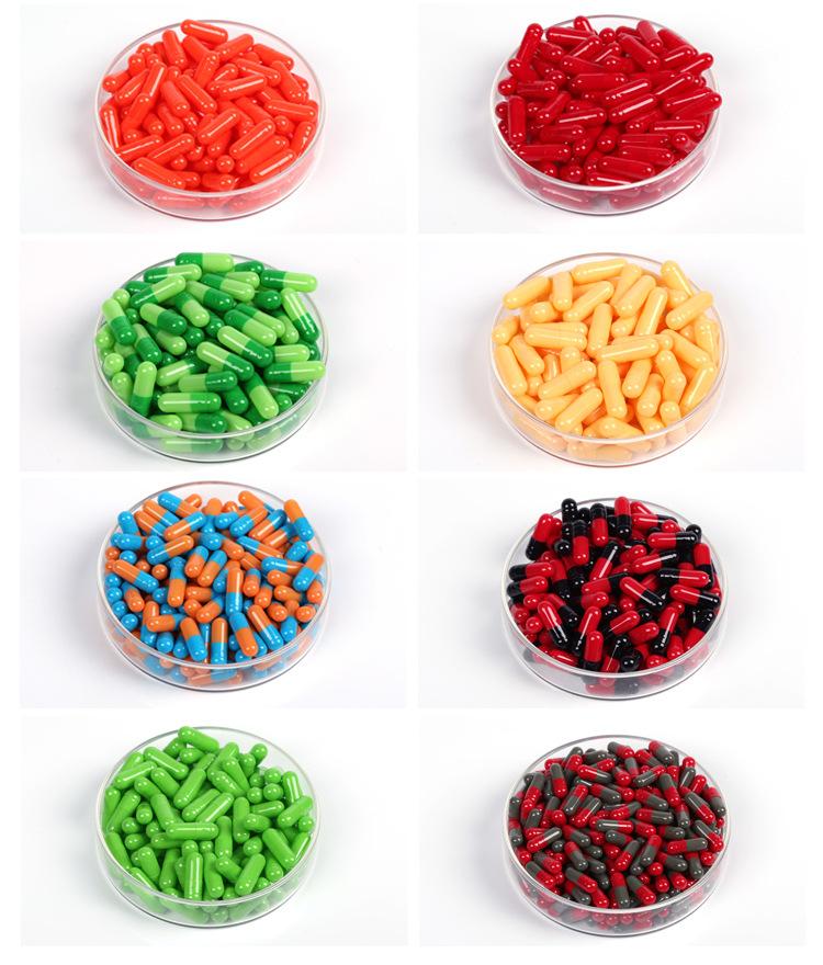Gelatin Empty Pills Capsules Vegan