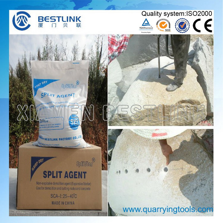 Silent Stone Cracking Powder for Splitting Stone