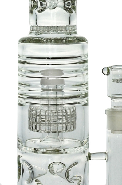 Full of Amazing Filters Glass Water Pipe for Smoking (ES-GB-436)