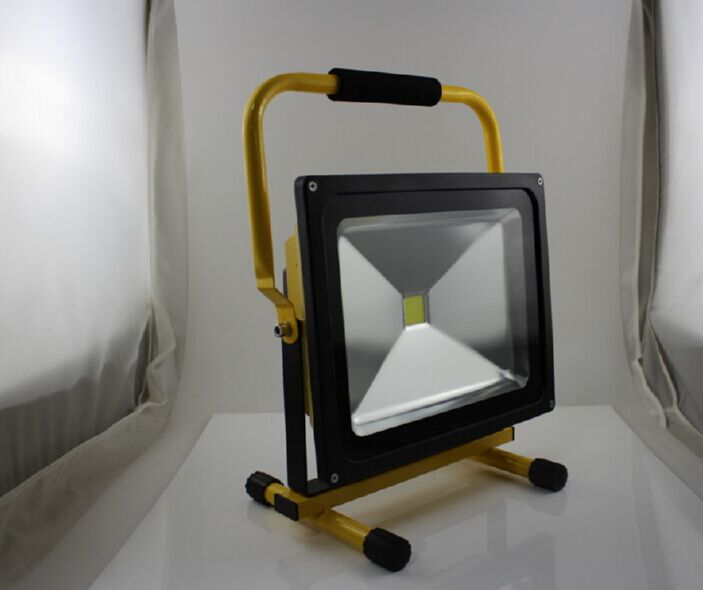 220V 50W 10h LED Rechargeable Emergency Floodlight