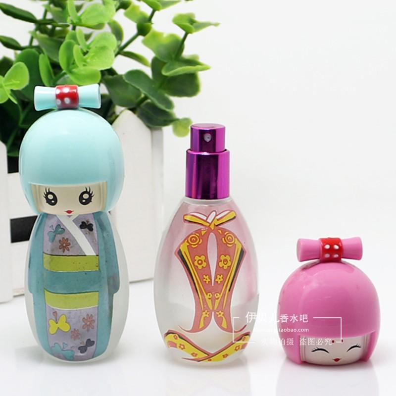 Fashion Cute Body Shape Glass Perfume Bottles, Cosmetic Jar for Fragrance Oil