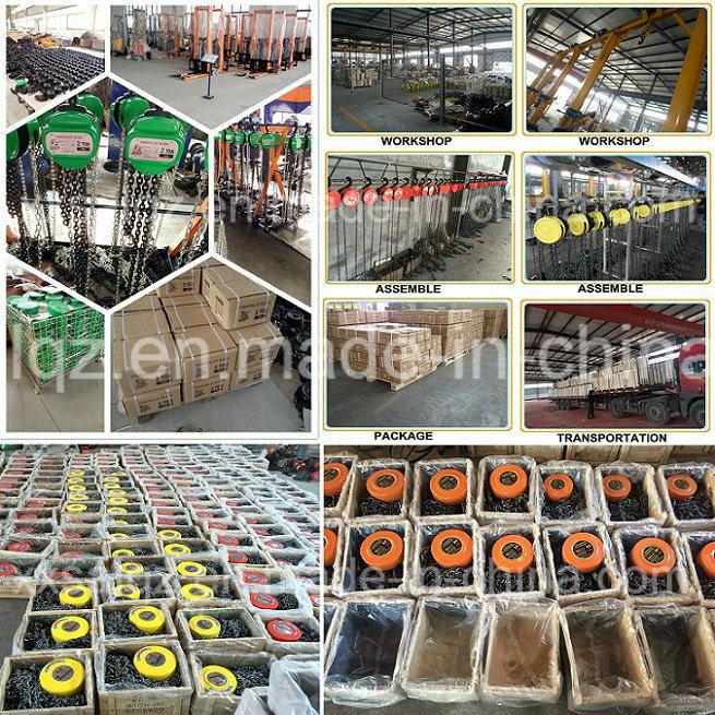 Hsz Type Manual Chain Hoist/Hand Chain Hoist/Chain Block for Sale