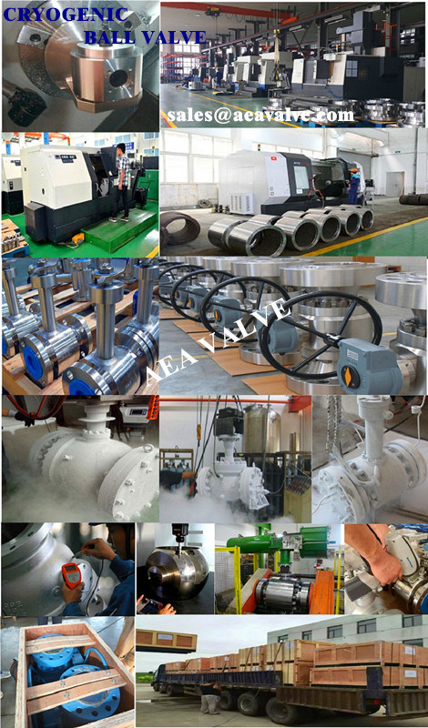 Extension Long Stem High Pressure Cryogenic Floating Ball Valve