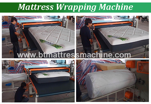 New Automatic Mattress Packing Machine