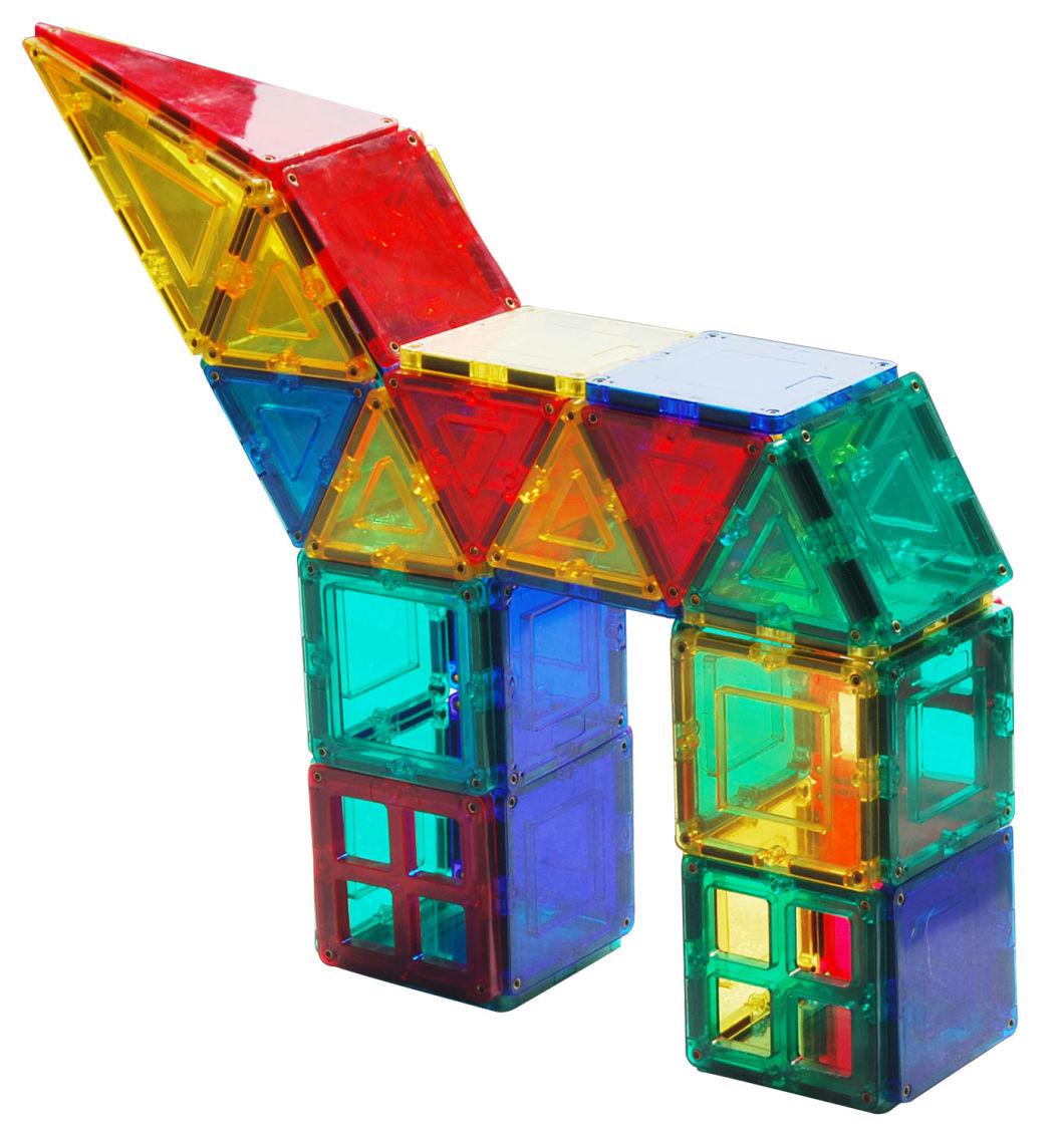 Magplayer Magnetic Building Blocks 146PCS