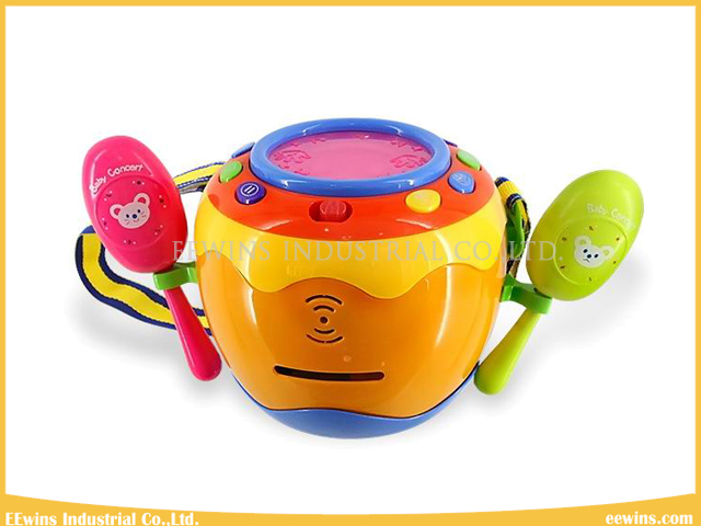 Baby Toys Smile Musical Toys Drum for Babies