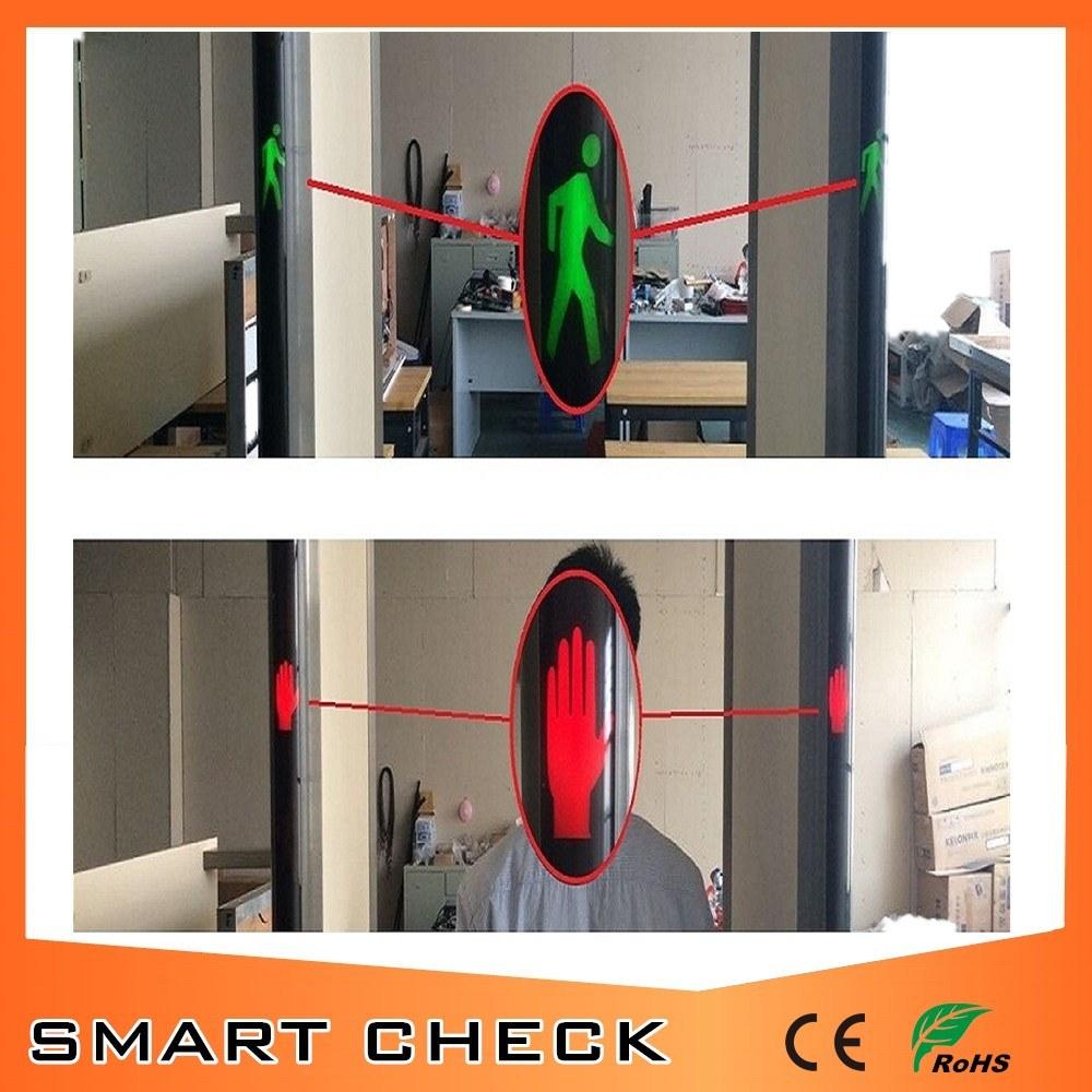 Professional Airport Digital Security Walk Through Metal Detector Gate