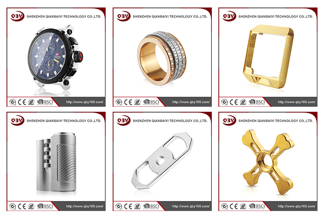 Customized Stainless Steel CNC Machined Watch Part