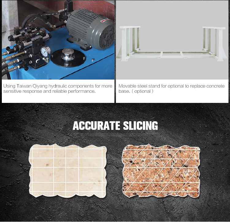 PLC600 700 Laser Bridge Granite Tile Cutter