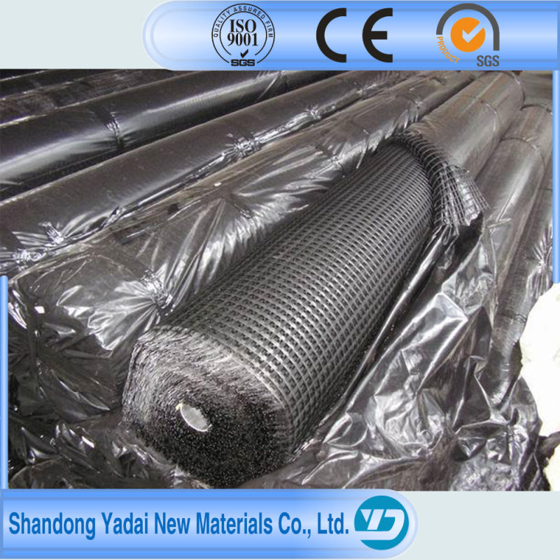 Uniaxial Geogrid PP for Building High Way or Railway for Road Construction