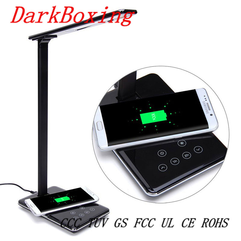 Without Strobe Table Lamp Emergency Mobile Wireless Fast Charger