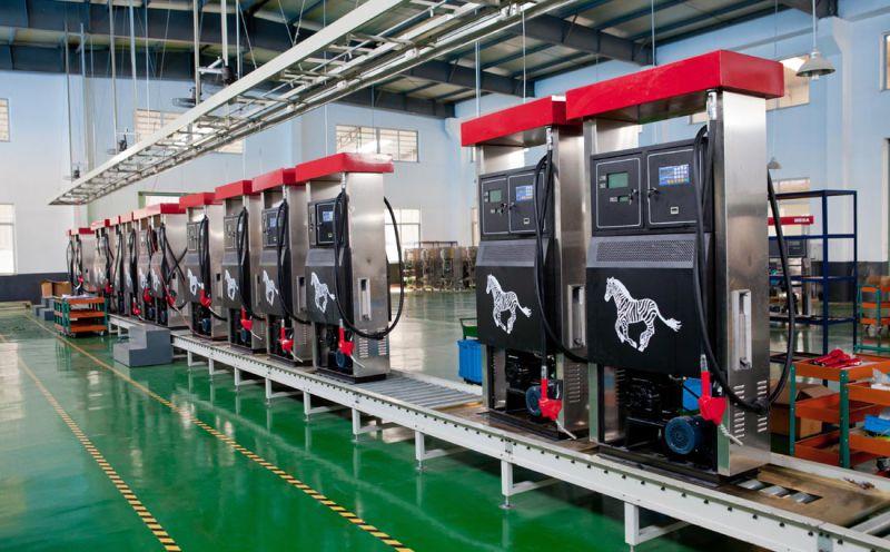 Zcheng Tokheim Fuel Dispenser Double Nozzle