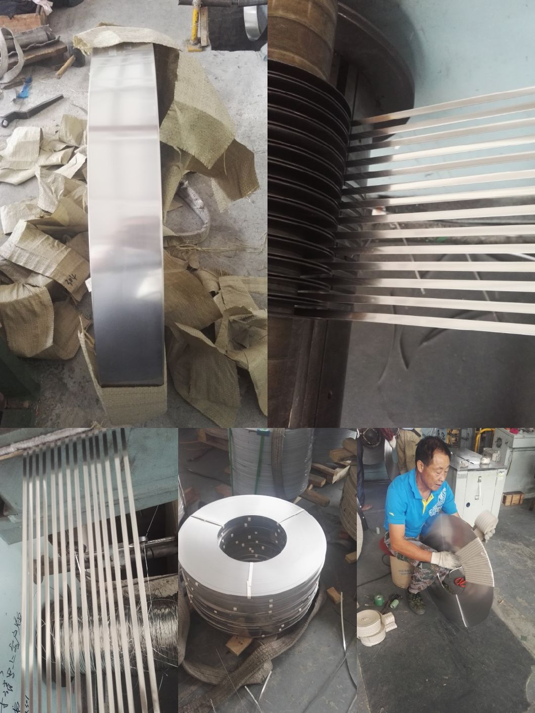 20 Years Experience Custom High Precision 304 Stainless Steel Strip