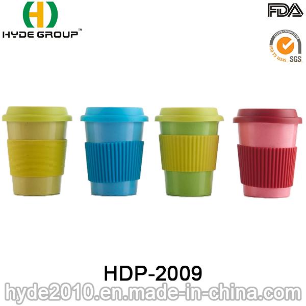 2016 Various Color Biodegradable Bamboo Fiber Coffee Mug (HDP-2009)