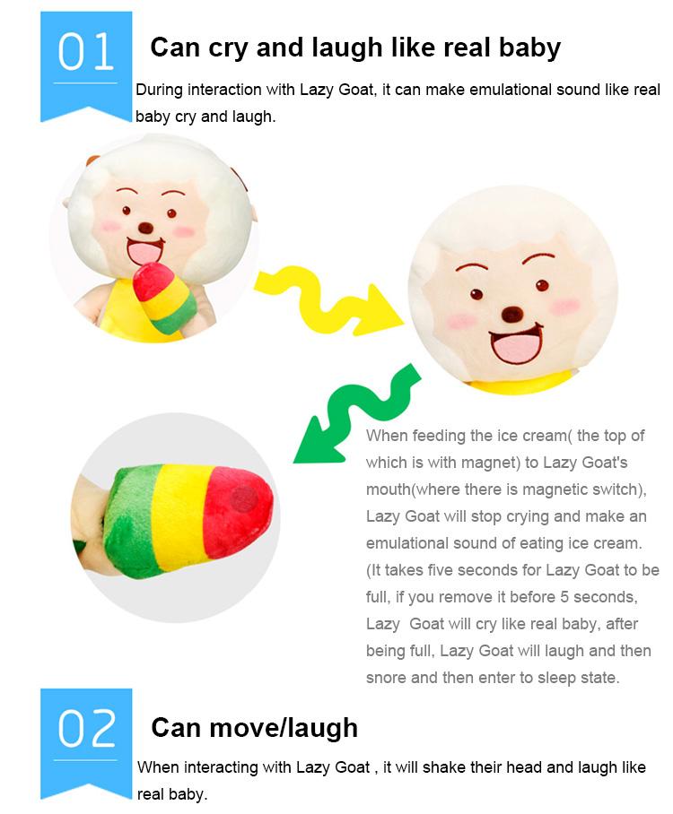 Plush Lazy Goat Toys
