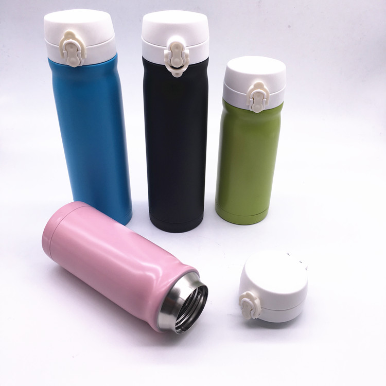 500ml new item promotion bpa free double wall stainless steel vacuum water flask