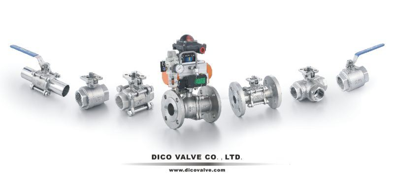 Ce API Stainless Steel 2PC Floating Ball Valve