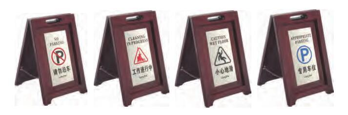 Stainless Steel Hotel Sign Board (DV45)