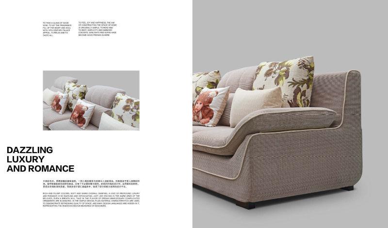 Modern Sofa, Sectional Sofa, Fabric Sofa, Corner Sofa (315)