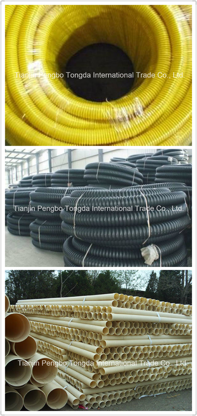 New Design Flexible Corrugated Factory PVC Suction Hose Tube