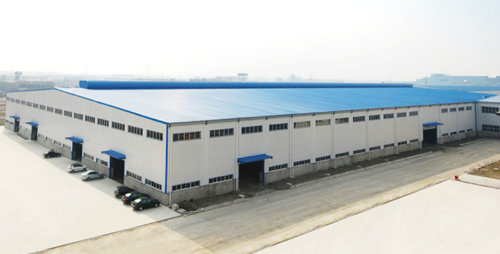 Low Cost Prefab Warehouse