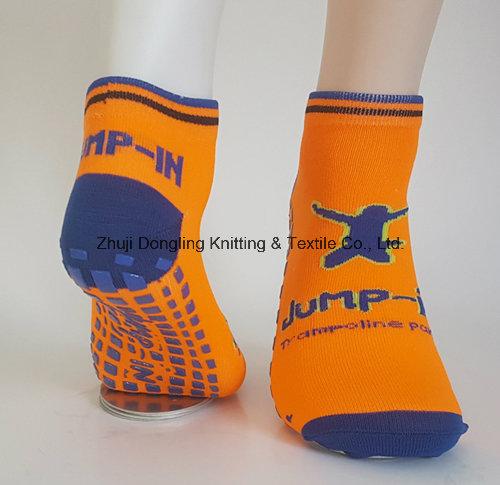 Custom Anti Slip Kids Jump Trampoline Socks