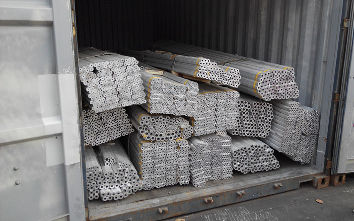 Standard Extruded 6060 T5 Rectangular Aluminum Tube