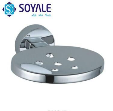 Zinc Alloy Soap Dish with Chrome Finishing Sy-3069A