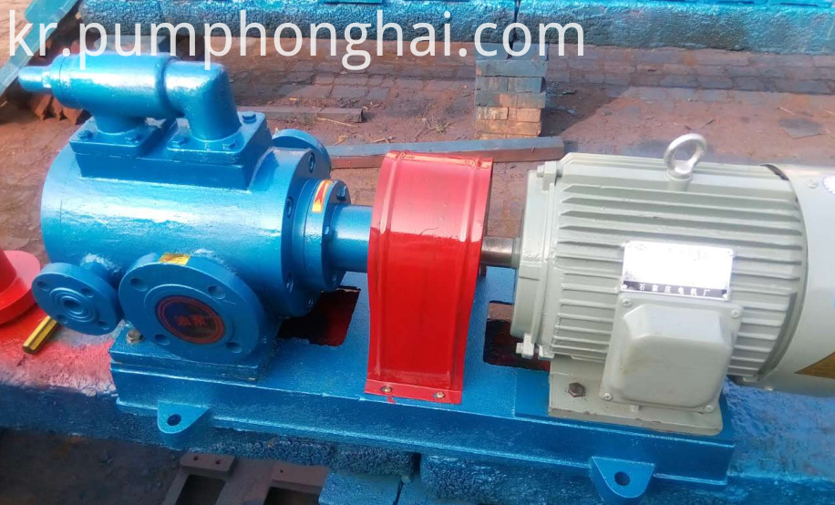 Oil Triple Screw Pump