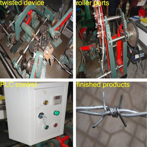 Automatic Barbed Wire Machine/Barbed Machine for China Supplier