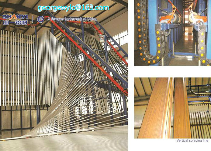 Glass Wall Curtain Wall Aluminium Extrusion Profile/ Aluminum Profile for Aluminium Foil