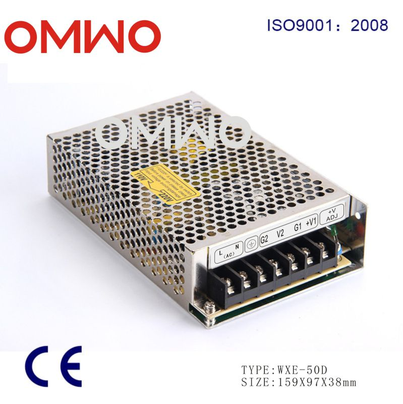 Omwo Wxe-50d-a Dual Output Switching Power Supply 50W