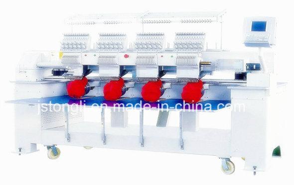12 Needles 4 Head Tubular Cap Embroidery Machine (TL-1204)