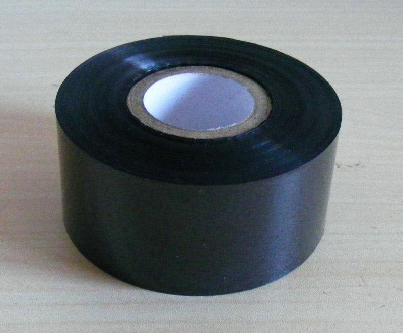Black 30mm * 100m Coding Ribbon Foil Hot Stamping Machine