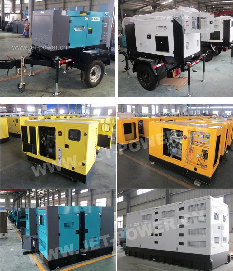 Yanmar Engine 30kw Diesel Generator 3kVA 3 Phase Generator