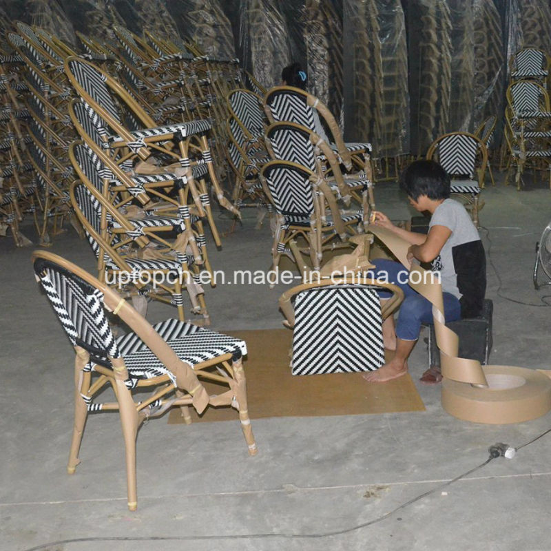 Outdoor Garden Chair Restaurant Cafe Aluminum Rattan Chair (SP-OC359)