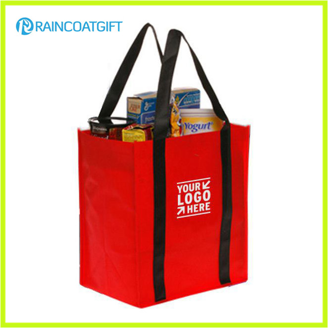Promotional Logo Printed Non-Woven Cheap Shopping Bag Brs-024