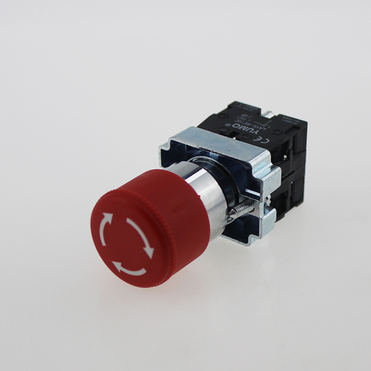Lay5-BS444 Mushroom Head Push Button Switch