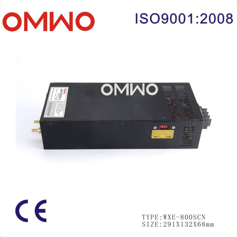 800W Single Output Switching Power Supply Wxe-800scn-12