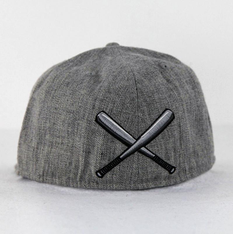 Jersey Knitting Heather Grey Sports Hats