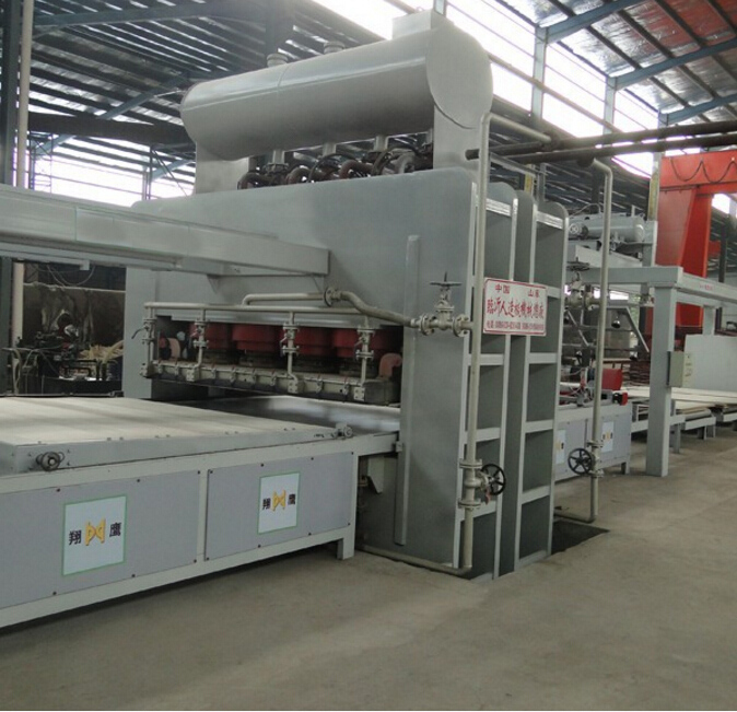 Particle Board/ MDF Short Cycle Melamine Hot Press Double Side Machine